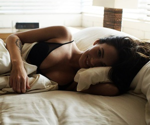 megan fox, sexy, and bed image