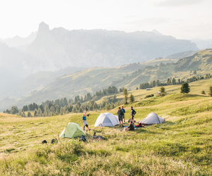 camping and mountains image