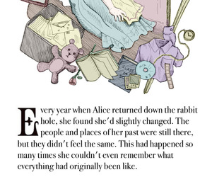 alice, rabbit, and time image