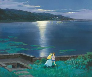 fav, omoide no marnie, and when marnie was there image