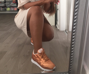 face, gold, and legs image