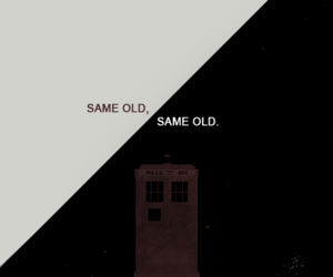 doctor who, old, and tardis image