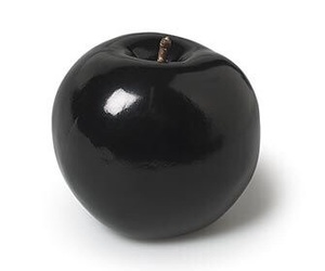 black, apple, and grunge image