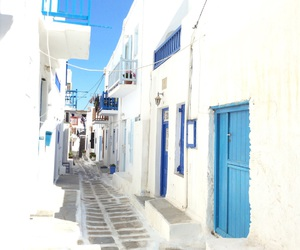 blue, day, and Greece image