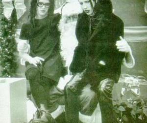 Marilyn Manson and twiggy ramirez image