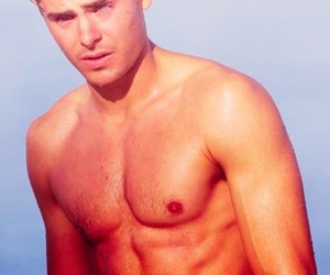abs, guys, and zacefron image
