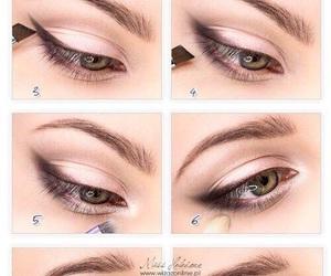eyes, make up, and tutorial image
