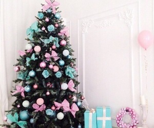 blue, presents, and interior image