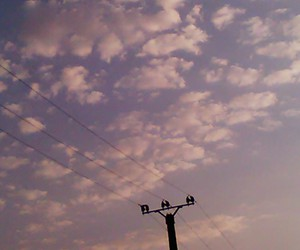 sky, palepink, and cute image