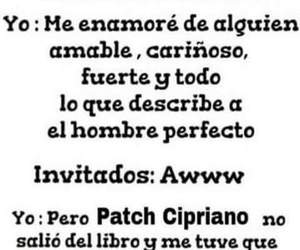 book, hush hush, and patch cipriano image