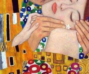 art, Gustav Klimt, and love image