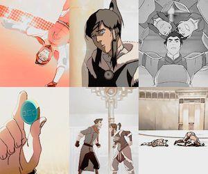 mako, the legend of korra, and bolin image