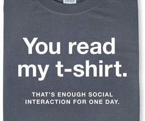 funny, read, and t-shirt image