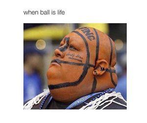 funny, Basketball, and lol image