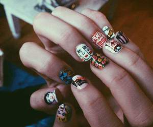 art, grunge, and nails image