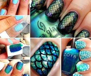 nails, diy, and manicure image