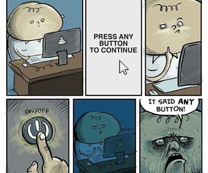 funny, computer, and lol image