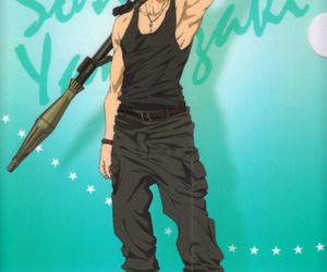 anime, sousuke, and free! image