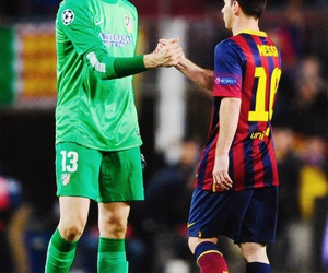 fc barcelona and thibaut courtois image