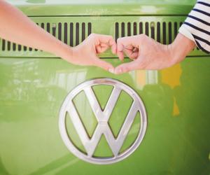 van, volkswagen, and love image