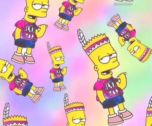 bart, funny, and the simpson's image