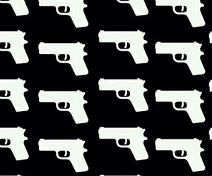gun, pattern, and wallpaper image