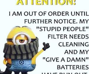 minions, funny, and facts image