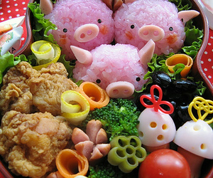 delicious, japanese, and pig image