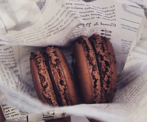 chocolate, food, and france image
