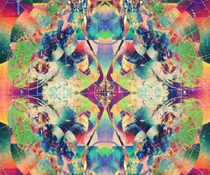 colors, psychedelic, and wallpaper image