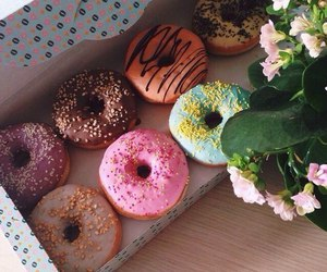 donuts, yummy, and delicious image