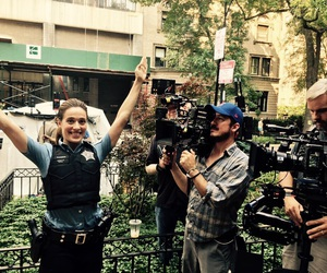 behind the scenes, cast, and chicago pd image