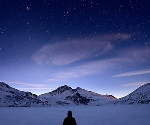 amazing, stars, and winter image