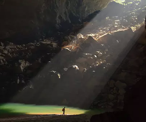 nature, cave, and beautiful image