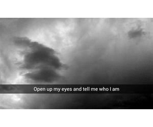 black and white, calvin harris, and clouds image