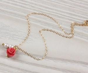love anklet, coral rose bracelet, and coral anklet image