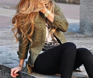 autumn, jeans, and style image