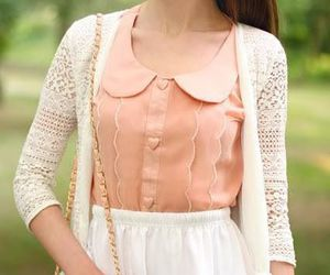 skirt, fashion, and lace image