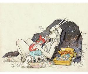 Chiara Bautista and wolf image