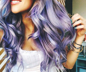 colorful, grunge, and hair image