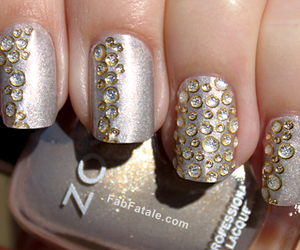 nails, nail polish, and nail art image