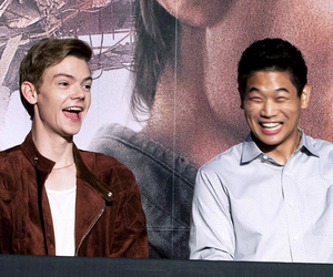 thomas brodie sangster, ki hong lee, and scorch trials image