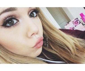beauty, blonde, and eyelashes image