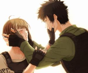 anime, couple, and Psycho image