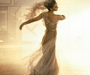 natalie portman, dance, and dress image
