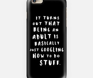 Adult, iphone, and case image