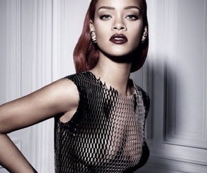 dior, rihanna, and dior magazine image