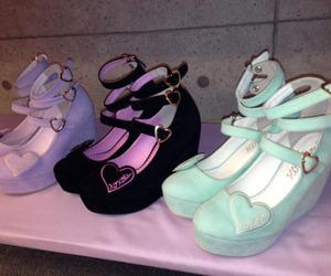 kawaii, pastel, and shoes image