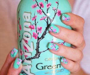 arizona, nails, and tea image