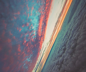 background, cool, and horizon image